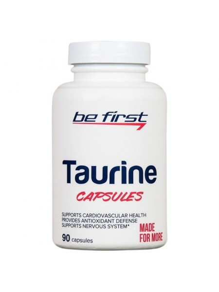 Be First Taurine Capsules 90 cap