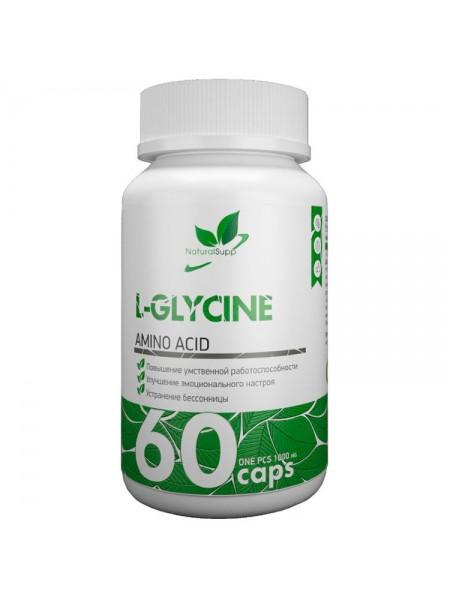 NaturalSupp L-GLYCINE 60caps