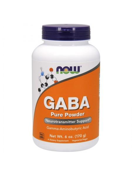 NOW GABA pure powder 170g