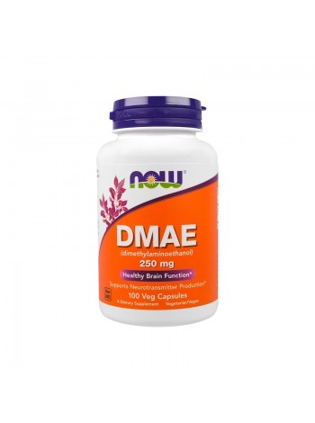 Now Foods, DMAE, 250 мг, 100 vcaps