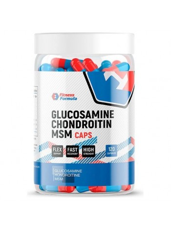 Fitness Formula Glucosamine Chondroitin Msm caps 120 капс
