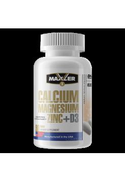 Maxler Calcium Zinc Magnesium +d3