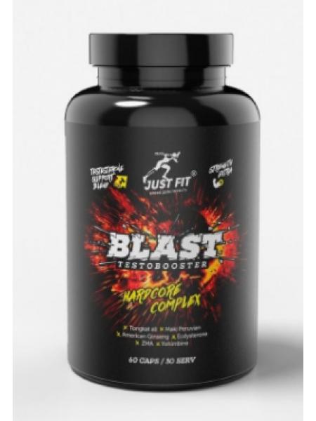 JUST FIT Blast Testobooster Hardcore Complex 60 капс