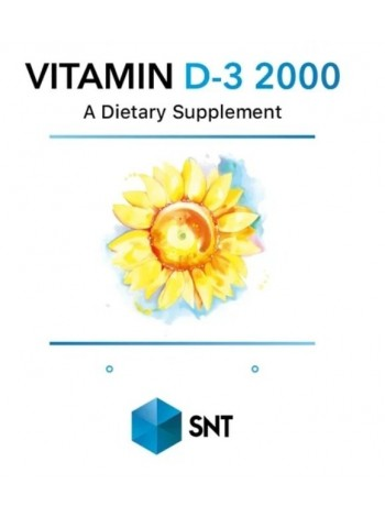 SNT Vitamin D3 2000 90 капс