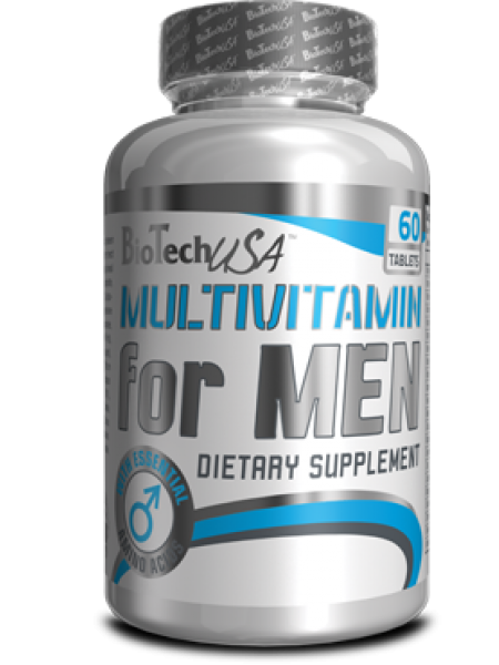 BioTechUSA MULTIVITAMIN FOR MEN 60tabs