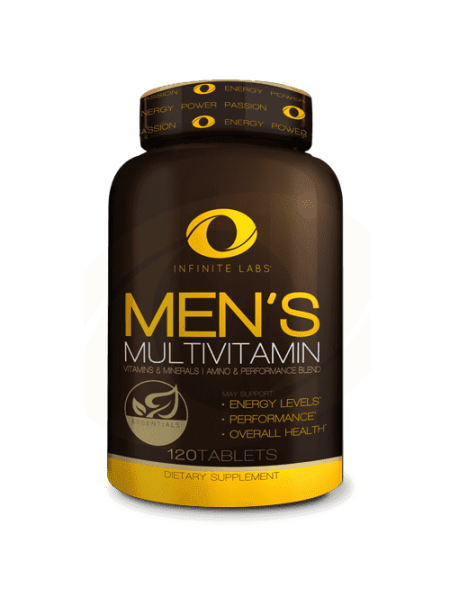 INFINITE LABS MEN'S MULTIVITAMIN 120 ТАБ