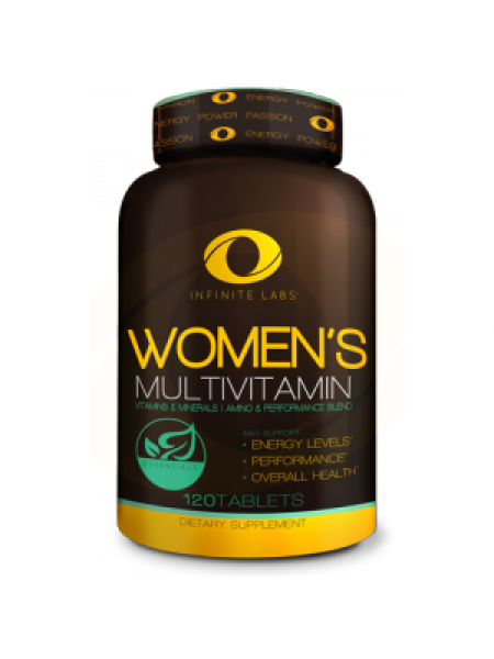 INFINITE LABS WOMEN'S MULTIVITAMIN 120 ТАБ